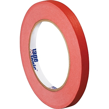 Tape Logic™ 1/4in. x 60 yds. Masking Tape, Red, 12/Case