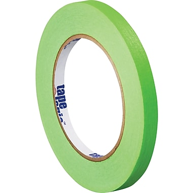 Tape Logic™ 1/4in. x 60 yds. Masking Tape, Light Green, 144/Case