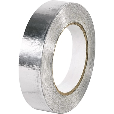 Tape Logic™ 1in. x 60 yds. Aluminum Foil Tape, 36 Rolls, 36/Case