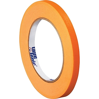 Tape Logic™ 1/4in. x 60 yds. Masking Tape, Orange, 144/Case