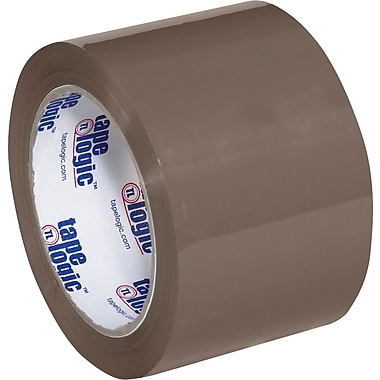 3in. x 110 yds. Clear Tape Logic™ #600 Hot Melt Tape, 24/Case