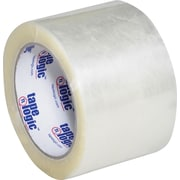 "Tape Logic® #600 Hot Melt Tape, 3"" x 110 yds., Clear, 24/Case"