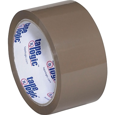 Tan Tape Logic™ 900 Hot Melt Tape, Tan, 2in. x 60 yds., 36/Case