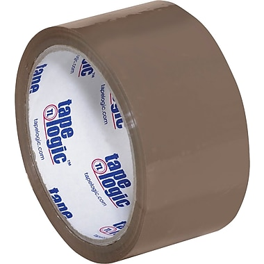 2in. x 55 yds. Tan Tape Logic™ #600 Hot Melt Tape, 36/Case