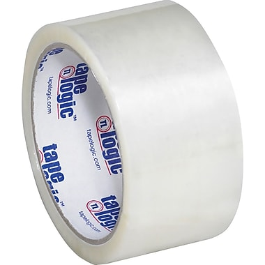 2in. x 55 yds. Clear Tape Logic™ #600 Hot Melt Tape, 6/Pack