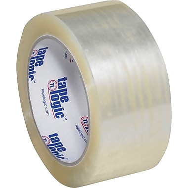 2in. x 55 yds. Clear Tape Logic™ #1000 Hot Melt Tape, 6/Pack