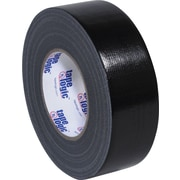 "Staples® Colored Duct Tape, Black, 2"" x 60 yards, 3/Pack"