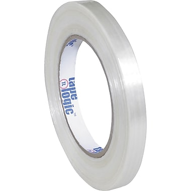 1/2in. x 60 yds. (12 Pack) Tape Logic™ #1500 Filament Tape, 12/Case