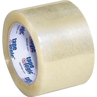 3in. x 110 yds. Clear Tape Logic™ 1.8 Mil Acrylic Tape