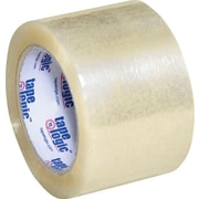 3 x 110 yds. Clear Tape Logic™ 1.8 Mil Acrylic Tape, 24/Case