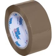 2 x 110 yds. Tan Tape Logic™ 1.8 Mil Acrylic Tape, 36/Case