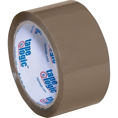 2in. x 55 yds. Tan Tape Logic™ 2 Mil Acrylic Tape, 36/Case