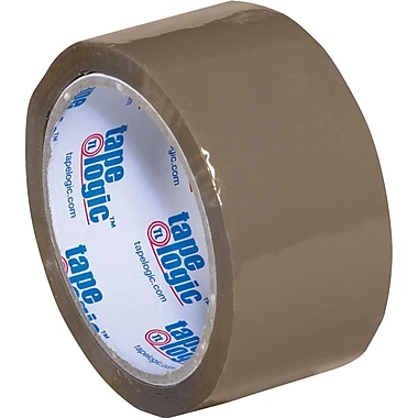 2in. x 55 yds. Tan Tape Logic™ 1.8 Mil Acrylic Tape, 36/Case