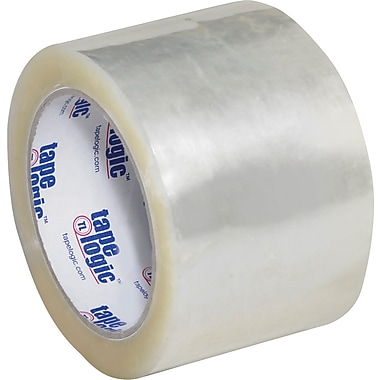 3in. x 55 yds. Clear Tape Logic™ #1000 Hot Melt Tape, 24/Case