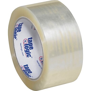 2in. x 55 yds. Clear Tape Logic™ #1000 Hot Melt Tape, 36/Case