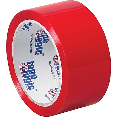 2in. x 55 yds. Red Tape Logic™ Carton Sealing Tape, 36/Case