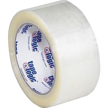 Clear Tape Logic™ 800 Hot Melt Tape, 2in. x 110 yds., 36/Case