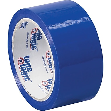 2in. x 55 yds. Blue Tape Logic™ Carton Sealing Tape, 36/Case