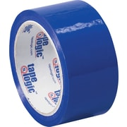 2 x 55 yds. Blue Tape Logic™ Carton Sealing Tape, 36/Case