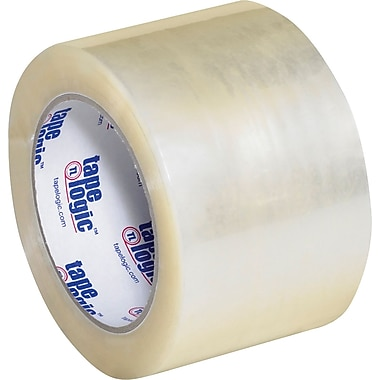 3in. x 110 yds. Clear  Tape Logic™ #700 Hot Melt Tape