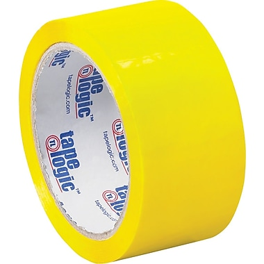 2in. x 55 yds. Yellow Tape Logic™ Carton Sealing Tape, 36/Case