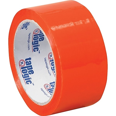 2in. x 55 yds. Orange Tape Logic™ Carton Sealing Tape
