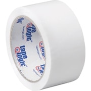 "2"" x 55 yds. White Tape Logic™ Carton Sealing Tape, 36/Case"