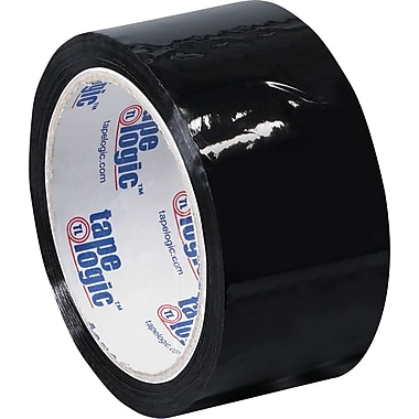 2in. x 55 yds. Black Tape Logic™ Carton Sealing Tape, 36/Case