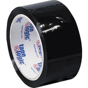 2 x 55 yds. Black Tape Logic™ Carton Sealing Tape, 36/Case