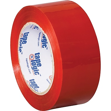 2in. x 110 yds. Red Tape Logic™ Carton Sealing Tape