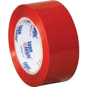 "2"" x 110 yds. Red Tape Logic™ Carton Sealing Tape, 36/Case"