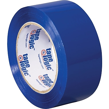2in. x 110 yds. Blue Tape Logic™ Carton Sealing Tape, 36/Case