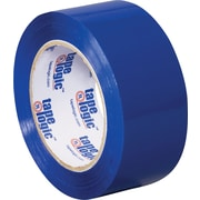 2 x 110 yds. Blue Tape Logic™ Carton Sealing Tape, 36/Case