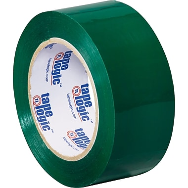 2in. x 110 yds. Green Tape Logic™ Carton Sealing Tape, 36/Case