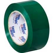 "2"" x 110 yds. Green Tape Logic™ Carton Sealing Tape, 36/Case"