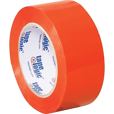 2in. x 110 yds. Orange Tape Logic™ Carton Sealing Tape