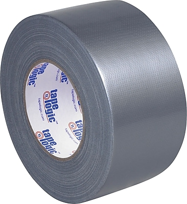 """""""""""Tape Logic Duct Tape, 9 Mil, 3"""""""""""""""" x 60 yds., Silver, 2/pack"""""""""""" 946609"""