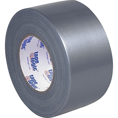 Tape Logic Economy Cloth Duct Tape, Silver, 3in. x 60 Yards, 2/Pack