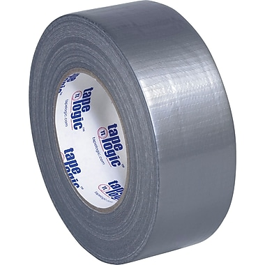 Tape Logic Economy Cloth Duct Tape, Silver, 2in. x 60 Yards, 8.0 Mil, 3/Pack