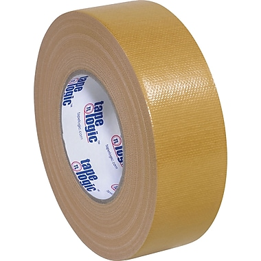 Tape Logic Economy Cloth Duct Tape, Tan, 2in. x 60 Yards, 3 Rolls