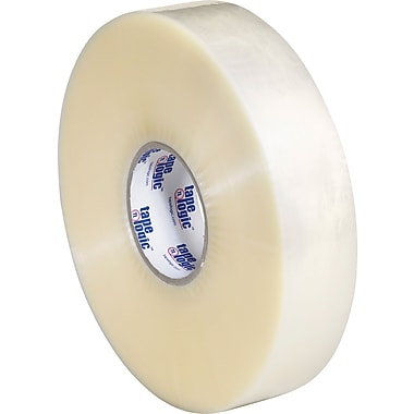 2in. x 1000 yds. Clear Tape Logic™ #600 Hot Melt Tape, 6/Pack