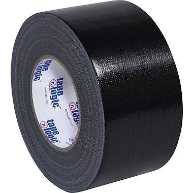 Tape Logic Industrial Gaffers Tape, Black, 3in. x 60 yds., 16/Case