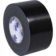 "Tape Logic Industrial Gaffers Tape, Black, 3"" x 60 yds., 16/Case"