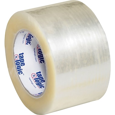3in. x 110 yds. Clear Tape Logic™ #900 Hot Melt Tape, 24/Case