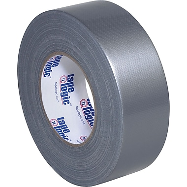 Tape Logic Industrial Cloth Duct Tape, Silver, 2in. x 60 Yards, 24 Rolls