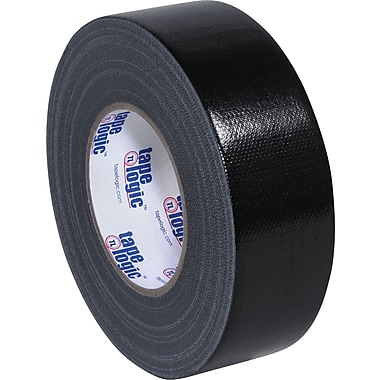 Tape Logic Industrial Cloth Duct Tape, Black, 2in. x 60 Yards, 24/Case