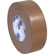 "Tape Logic Economy Cloth Duct Tape, Brown, 2"" x 60 Yards, 24/Case"