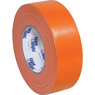 Tape Logic Economy Cloth Duct Tape, Orange, 2in. x 60 Yards, 24/Case
