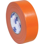 "Tape Logic Economy Cloth Duct Tape, Orange, 2"" x 60 Yards, 24/Case"