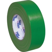 "Tape Logic Economy Cloth Duct Tape, Dark Green, 2"" x 60 Yards, 24/Case"